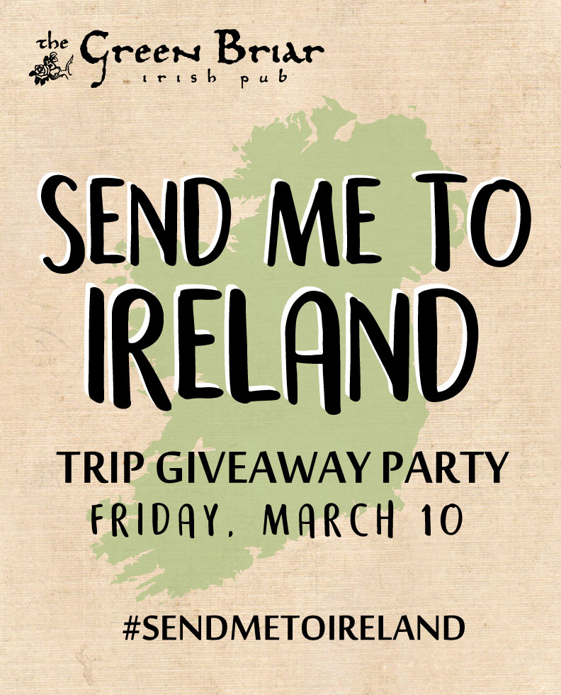 Ireland Trip Giveaway
