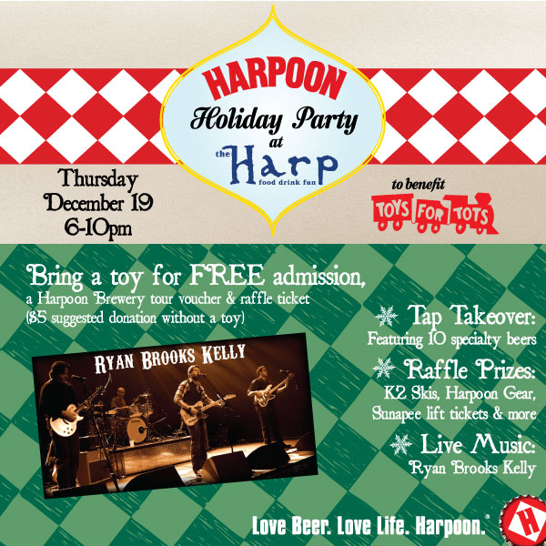 Harpoon Holiday Party