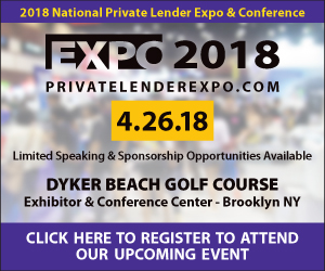 2018 National Private Lender Expo & Real Estate Conference