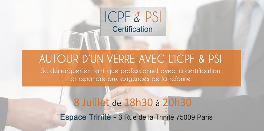 Réunion d'information ICPF & PSI - 8 Juillet