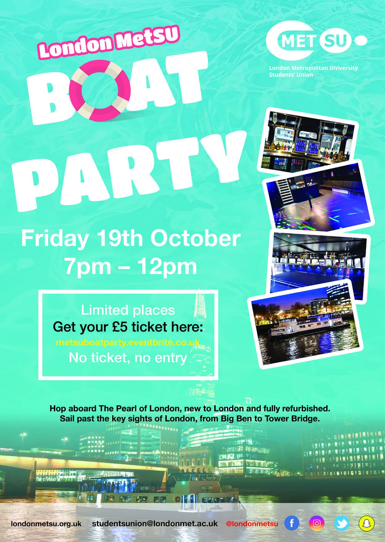 SU Boat Party