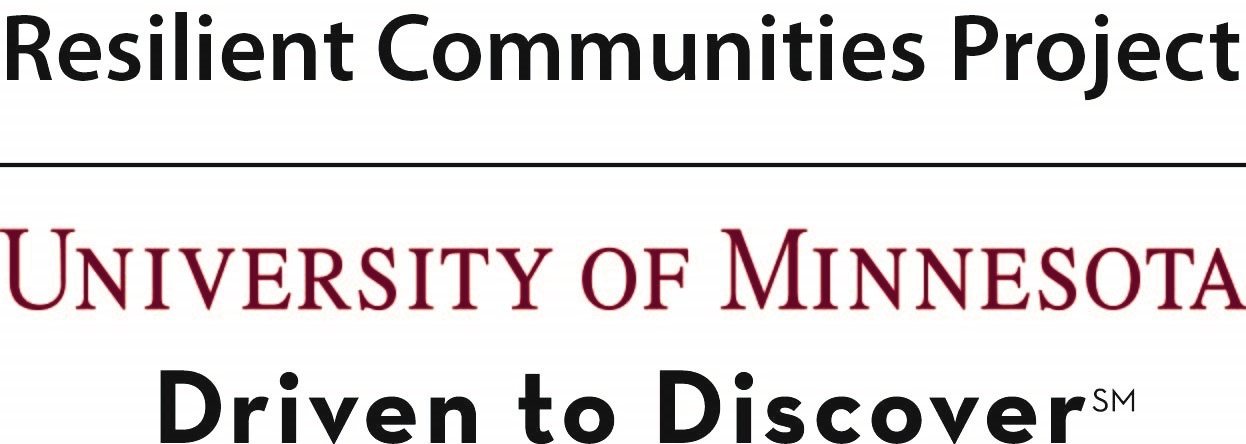Resilient Communities Project University of Minnesota