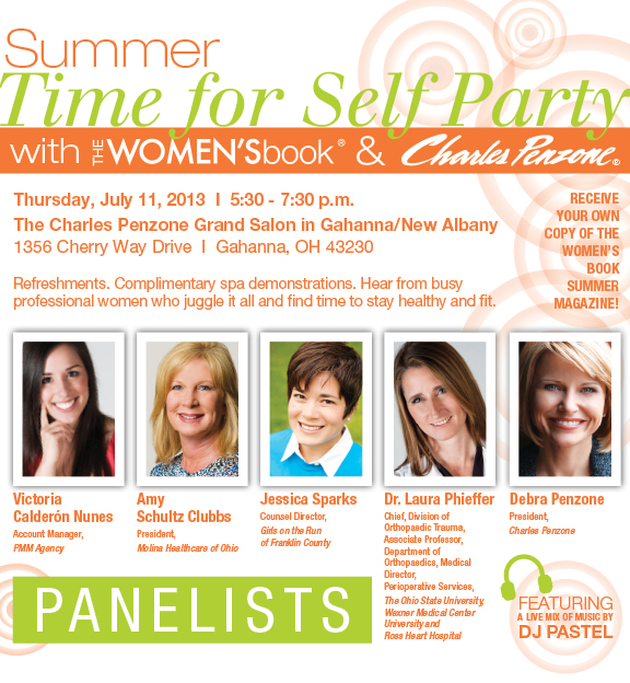 TWB Time for Self Party Info