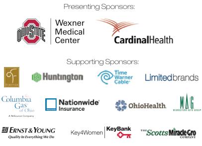 2012 Columbus Release Sponsors