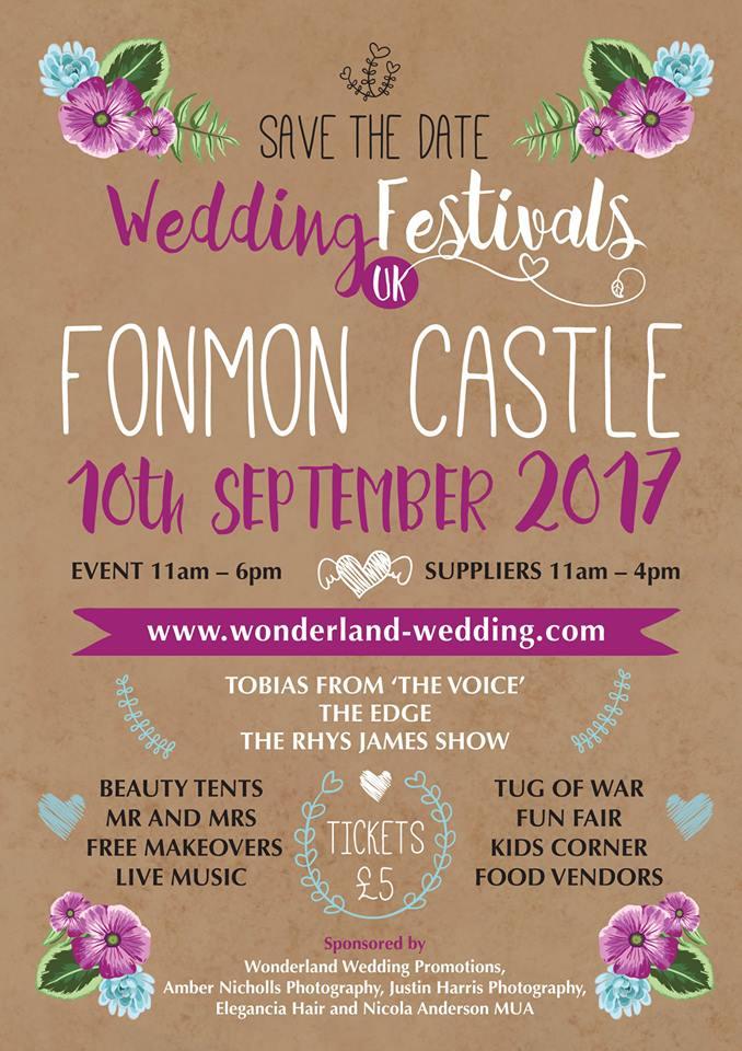 Fonmon Castle Event Poster