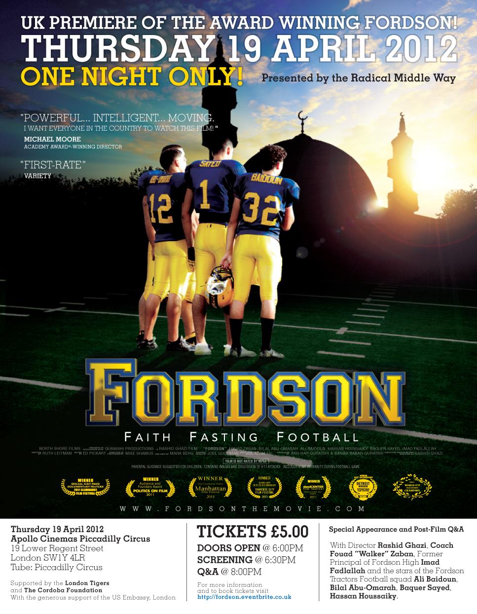 UK Premiere Poster