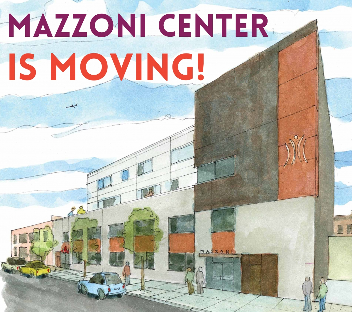 Mazzoni Center is Moving