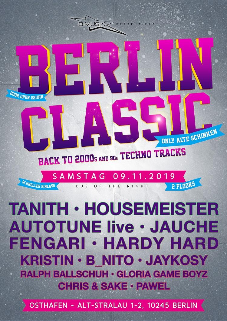 Berlin Classic 9.11.2019 Osthafen
