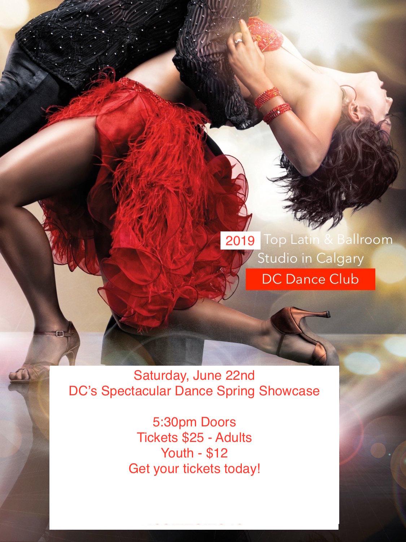 Calgary dance show