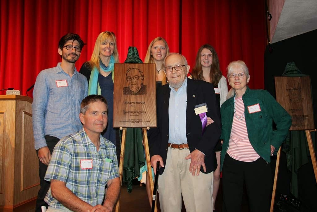 2015 WCHF Inductee Gene Roark and Family