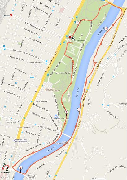 5 km firwalking