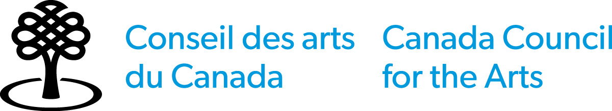 Canada Council for the Arts logo credit (English)