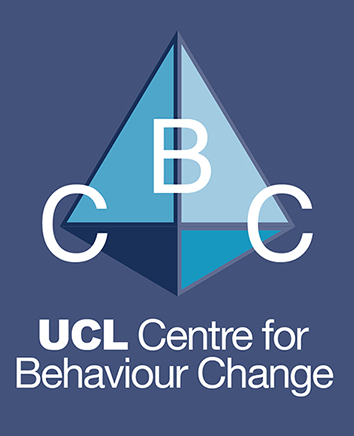 Logo for the UCL Centre for Behaviour Change