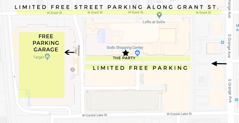 SoDo parking map