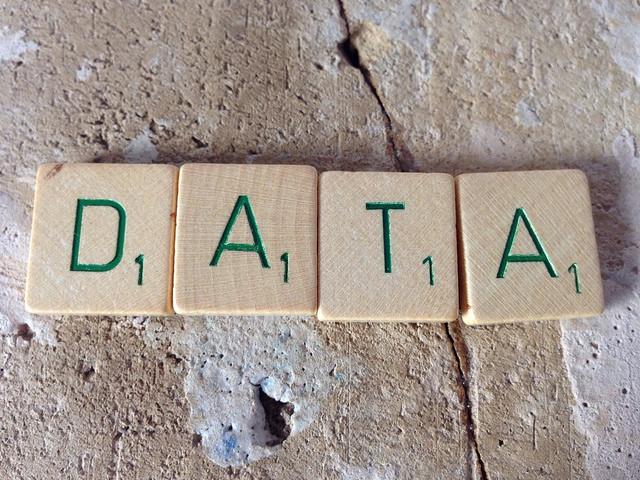 Data scrabble