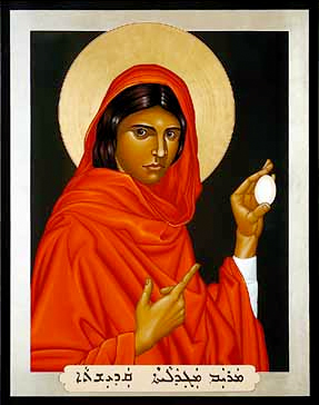Icon of Mary Magdalene