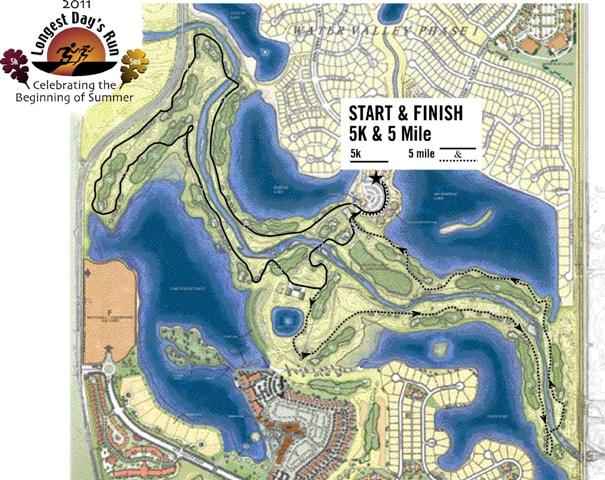 5k/5 mile map