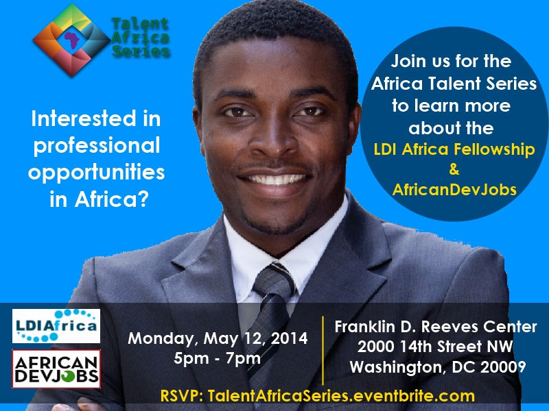 Talent Africa Series Flyer May 2014