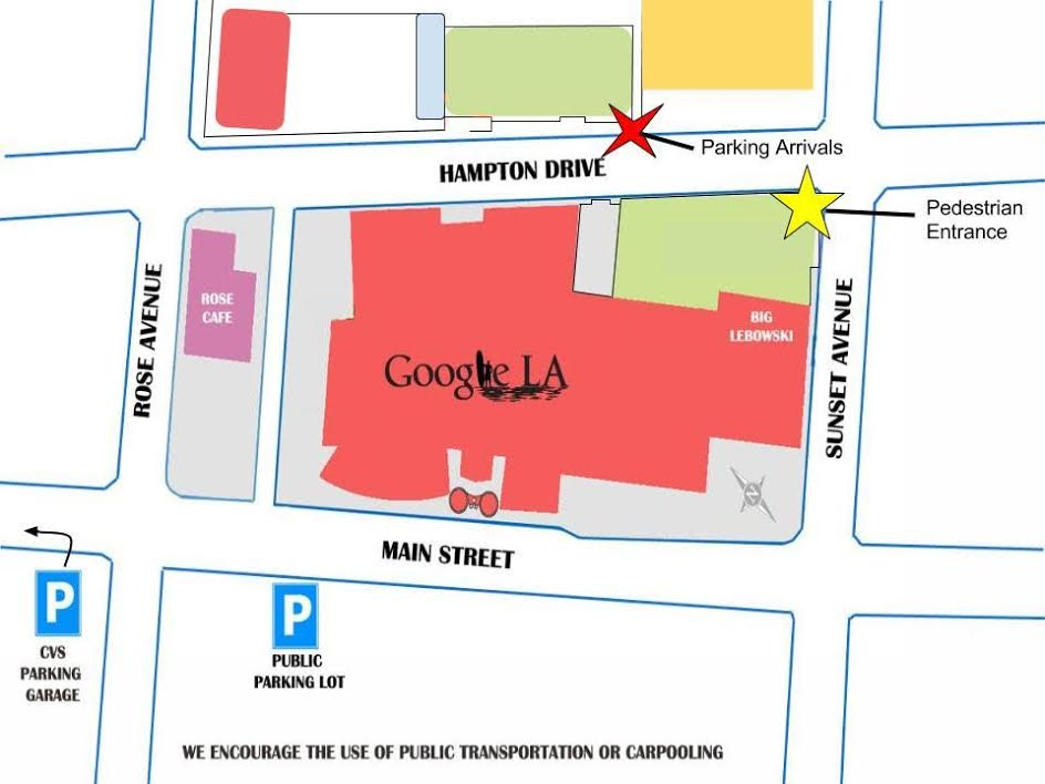 Google LA map