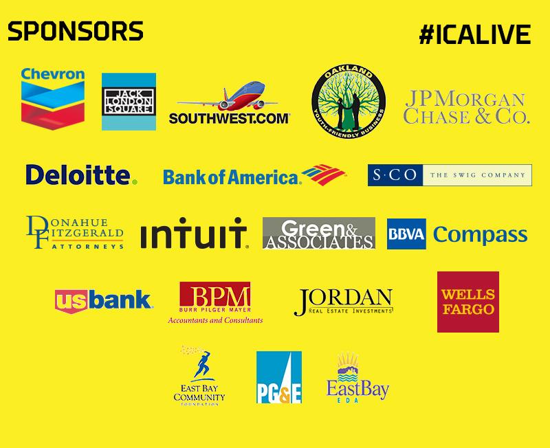 ICA LIVE Sponsors