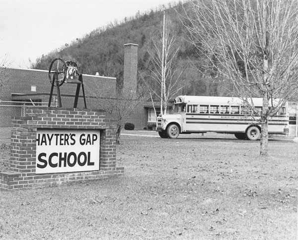 Hayters Gap School, 1964