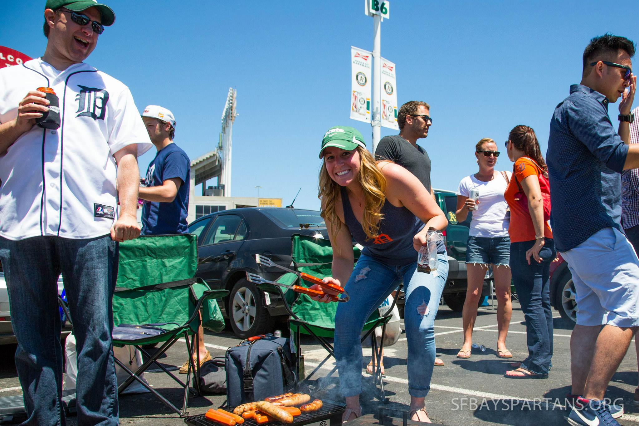 From last year's tailgate party!
