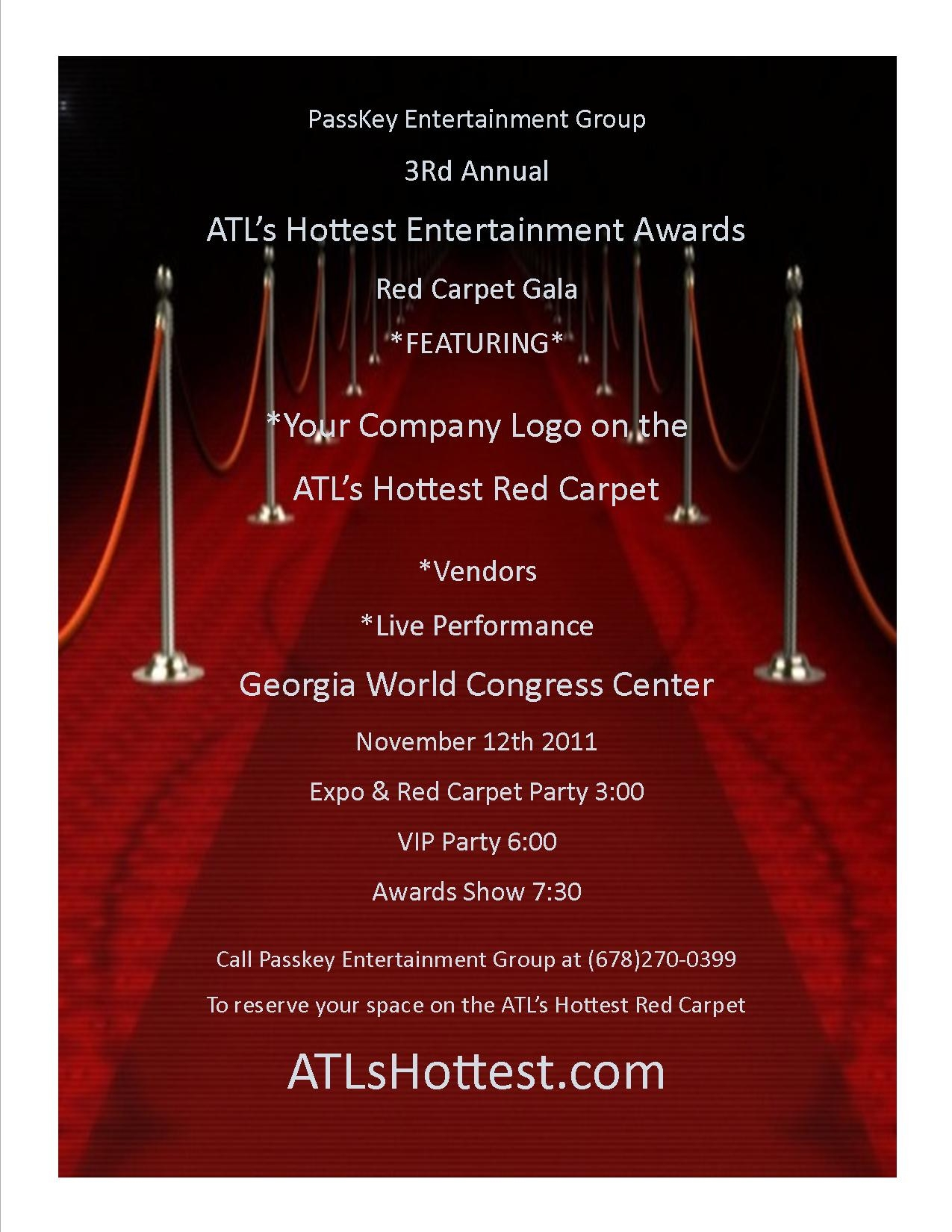 Red Carpet Awards Vendors and More
