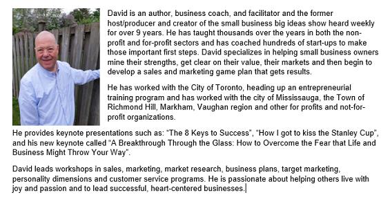 bio for speaker David Cohen