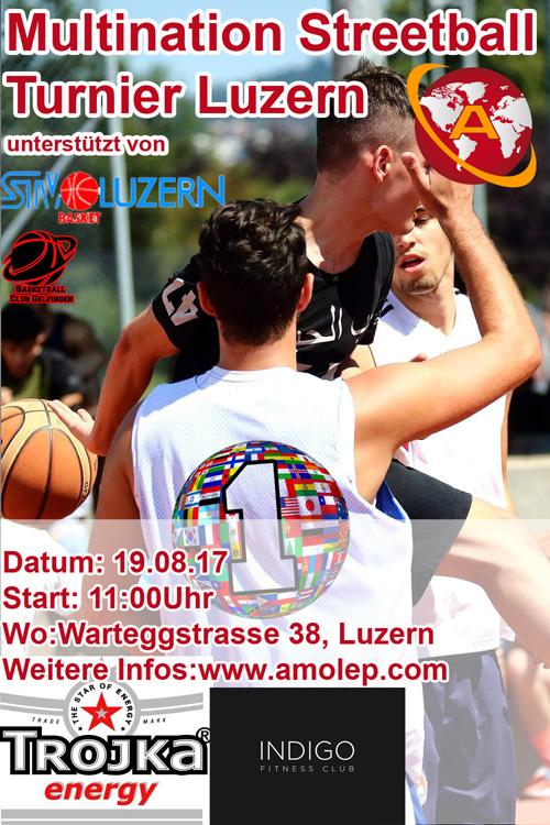 AMOLEP Multination Streetball Turnier 2017 Luzern