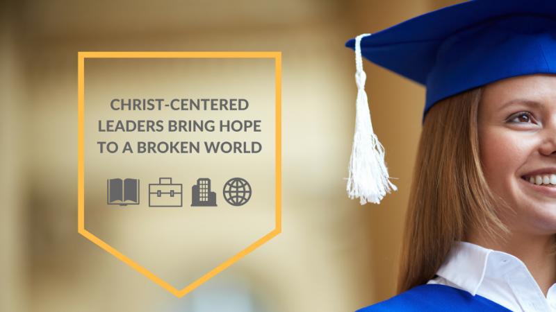 Christ-centered leaders bring hope to a broken world