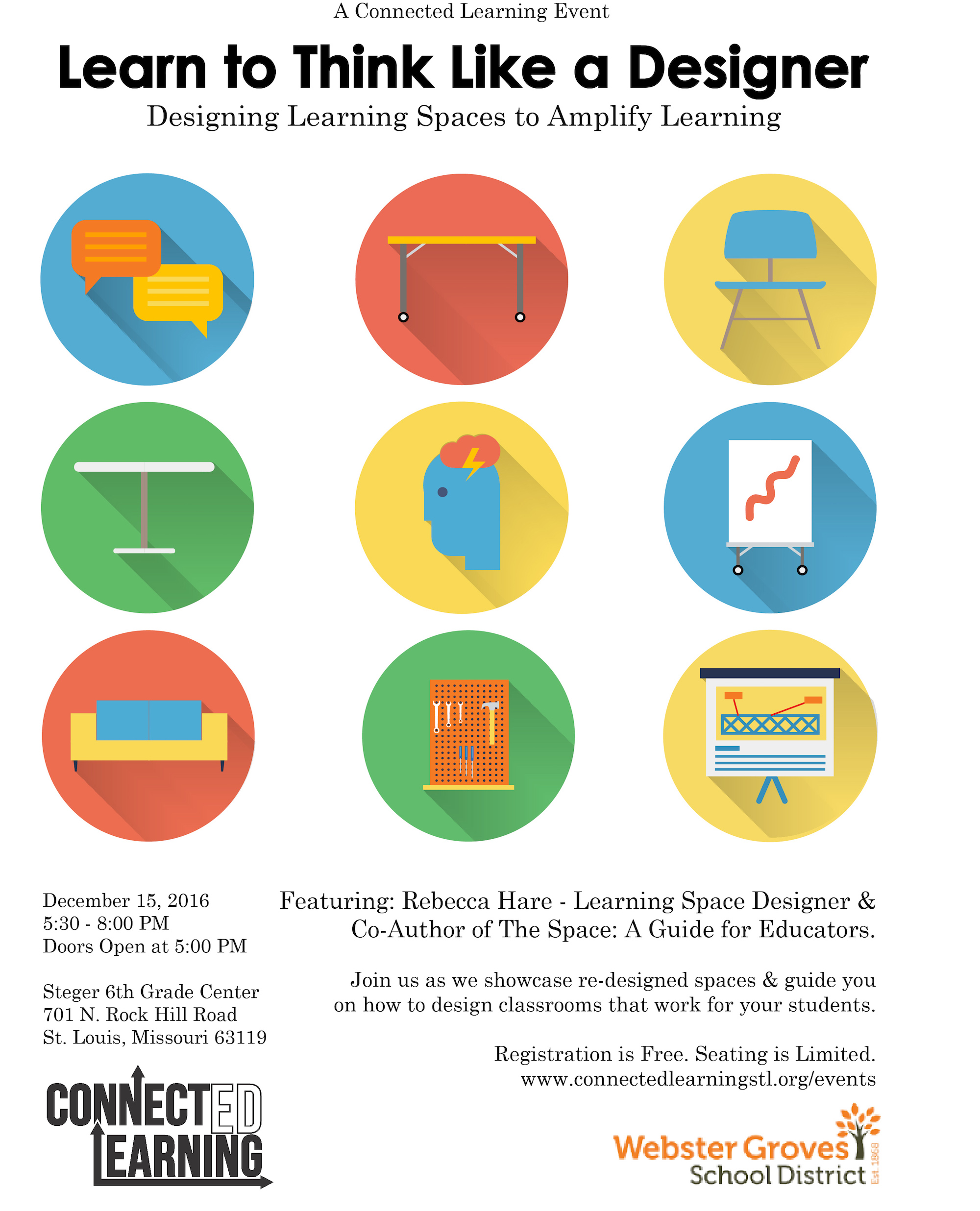 Learning Space Design Flyer