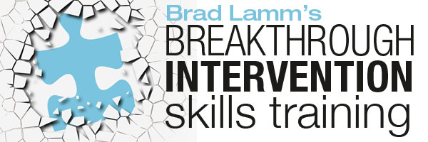 Brad Lamm's Breakthrough Intervention skills training