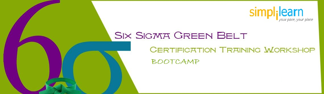 Six Sigma Green Belt Certification Training In Muscat Oman On June