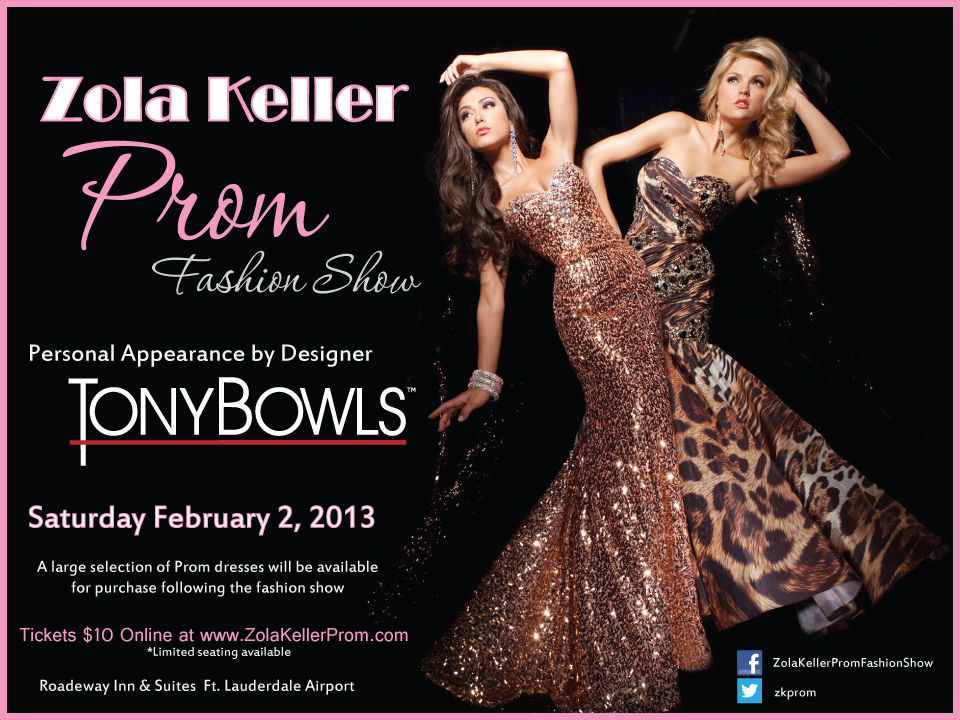 Zola Keller Prom Fashion Show on 2/2/2013
