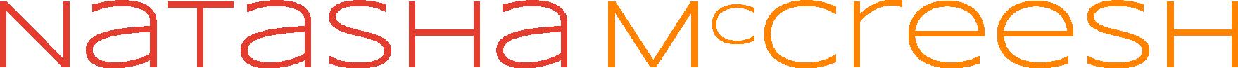 Natasha McCreesh text logo