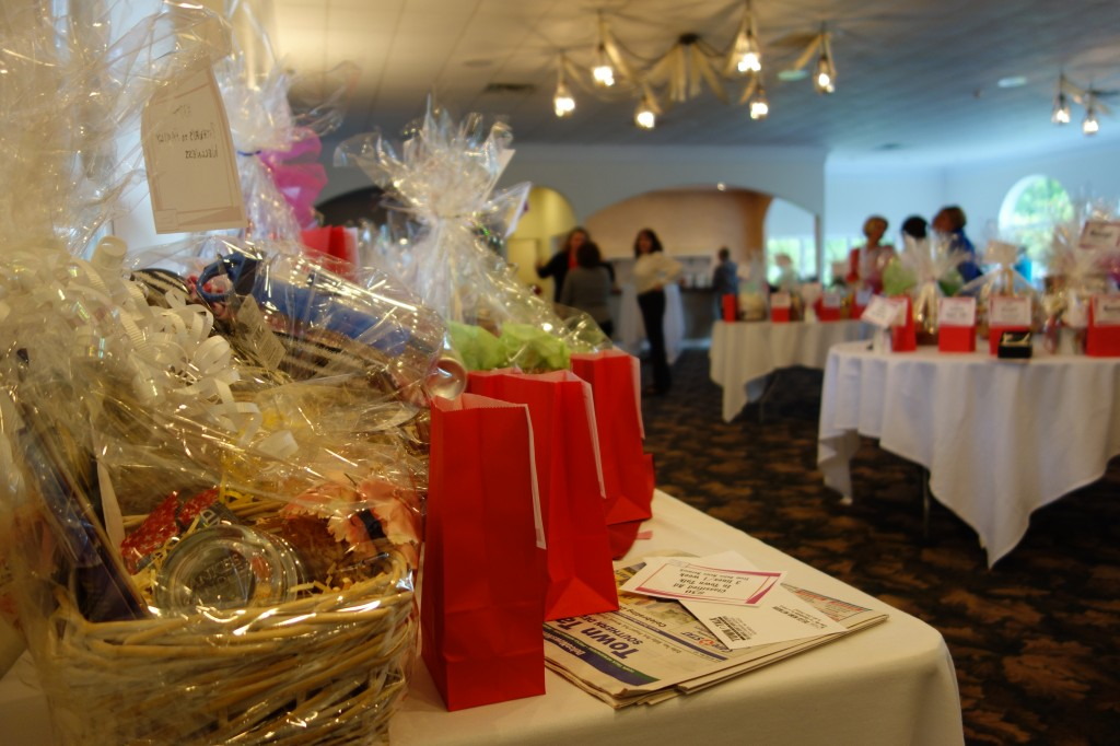 Tricky tray & silent auction at the Girlfriend Gala
