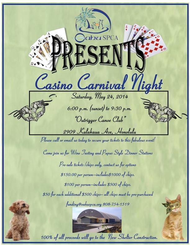 Casino Carnival Flyer
