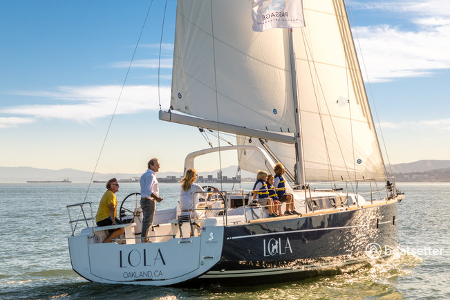 beneteau 38 sailing charter