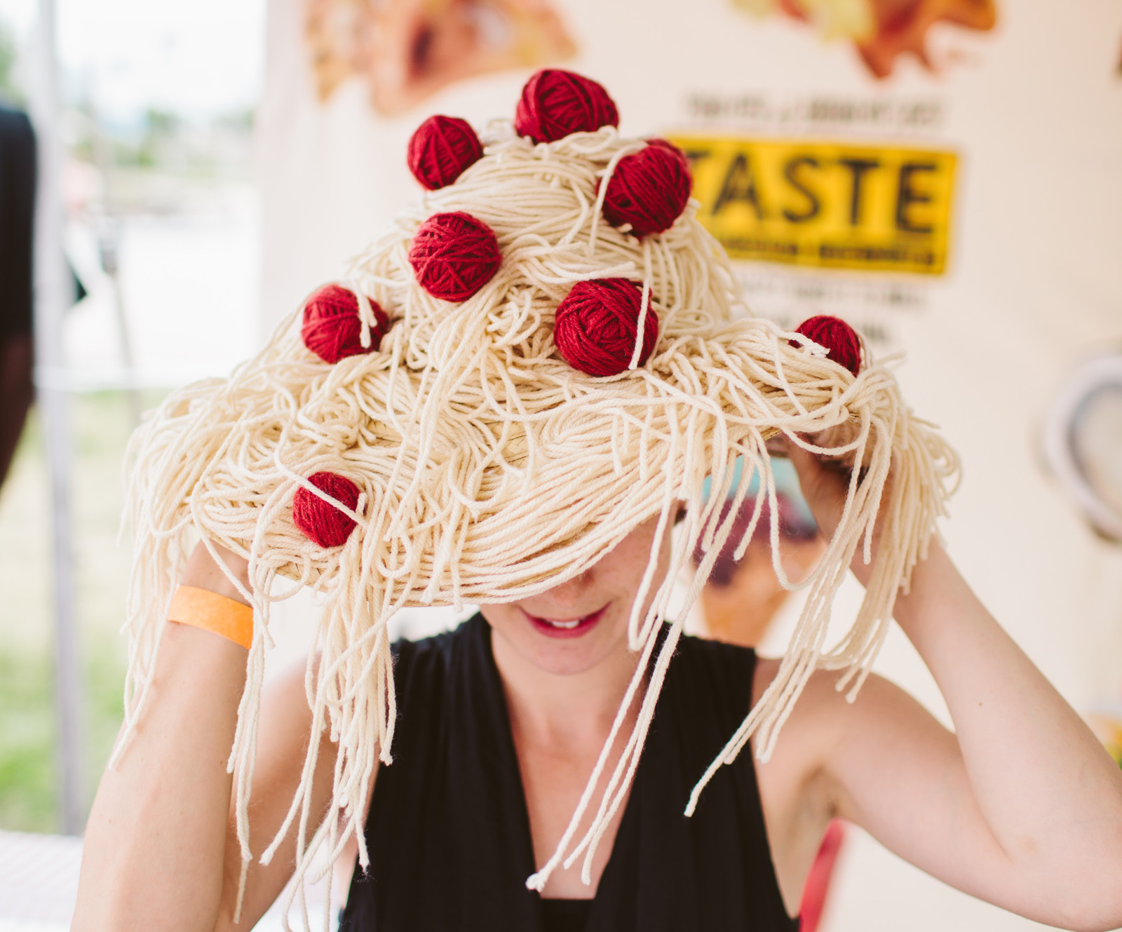 Fun with Food! Nice Think's photobooth from Taste WG 2015