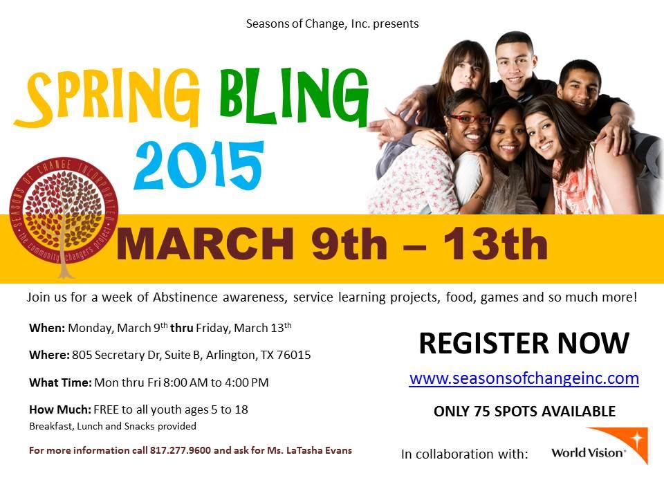 Spring Bling 2015