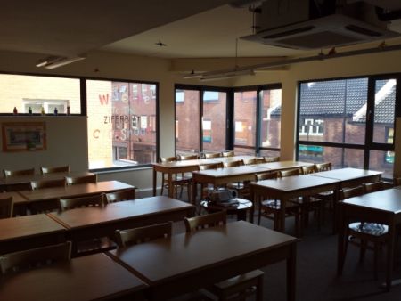 The Classroom at Ziferblat, the venue for this workshop.