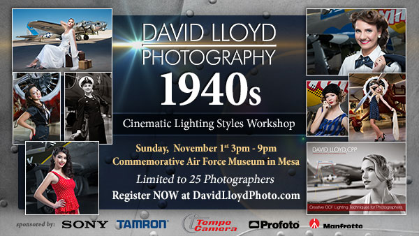 40s Hollywood Event Banner