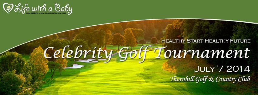 Celebrity Golf Tournament Banner