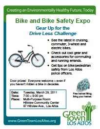 Bike & Bike Safety Expo flyer