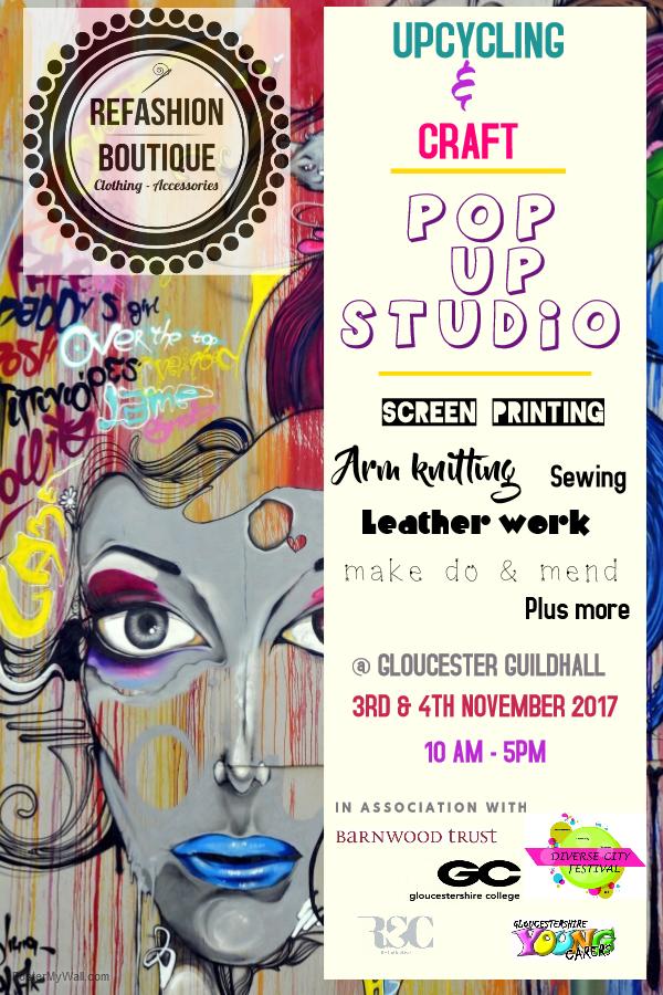 Refashion Boutique pop workshop 2017