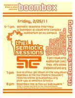 The Semiotic Sessions, VOL II: BoomBox Interview at CU