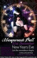 New Year's Eve Masquerade Ball @ Club Congas, Harvard...