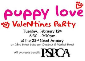Puppy Love Valentines Party
