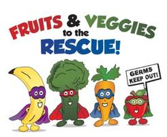 Kids Fruit and Veggies Class