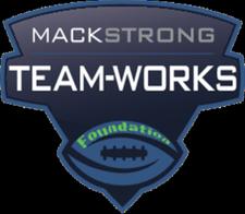 Mack Strong TEAM-WORKS Foundation logo